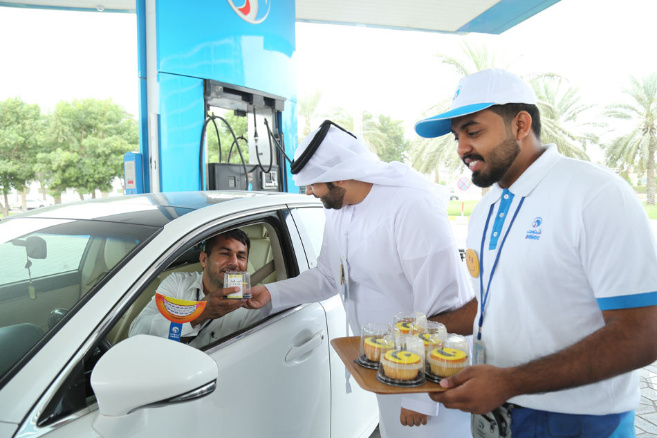adnoc distribution organize diverse range of activities for its customers on the occasion of the international day of happiness1