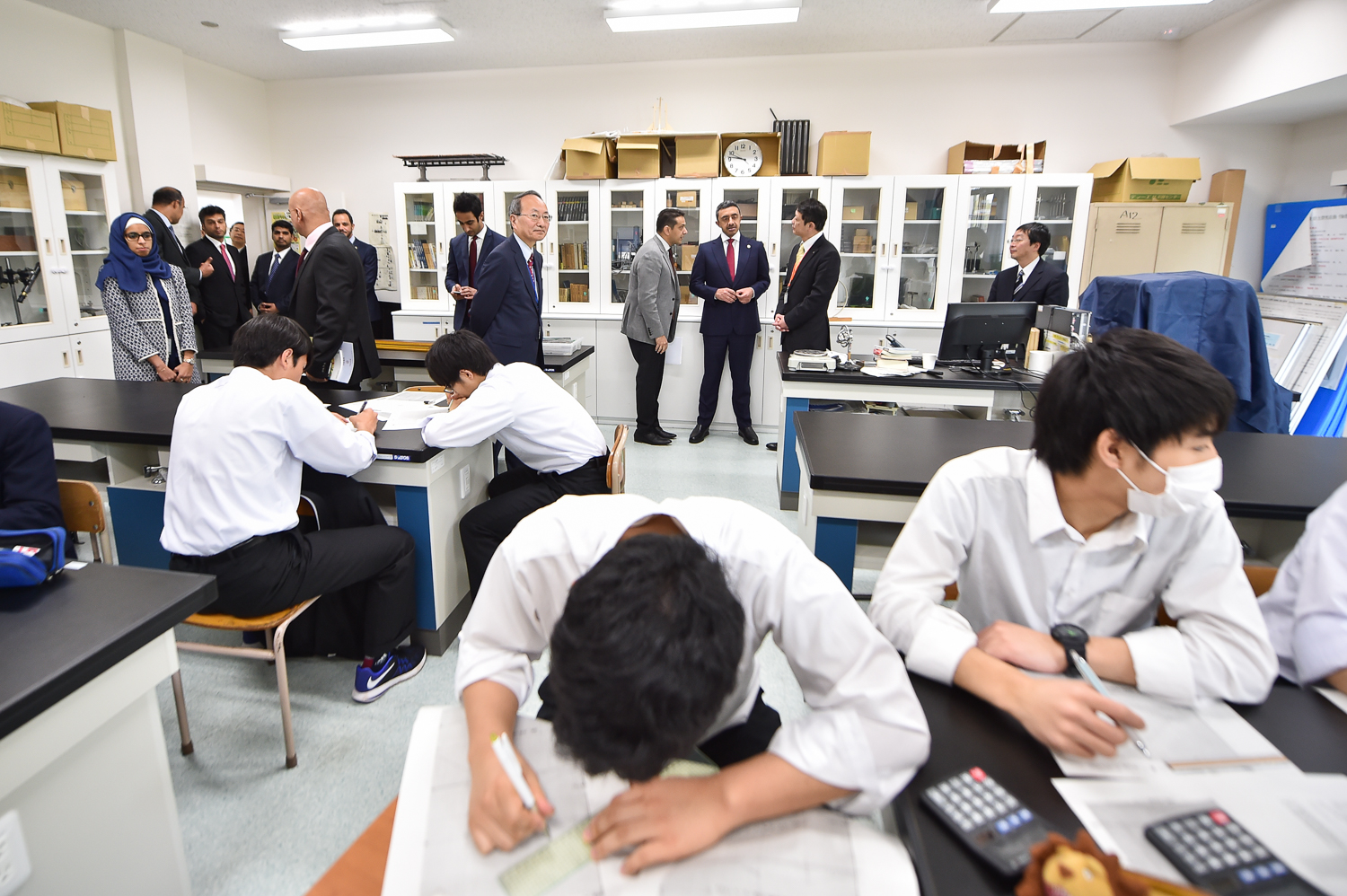 24 april 2017 hibiya high school visit-27