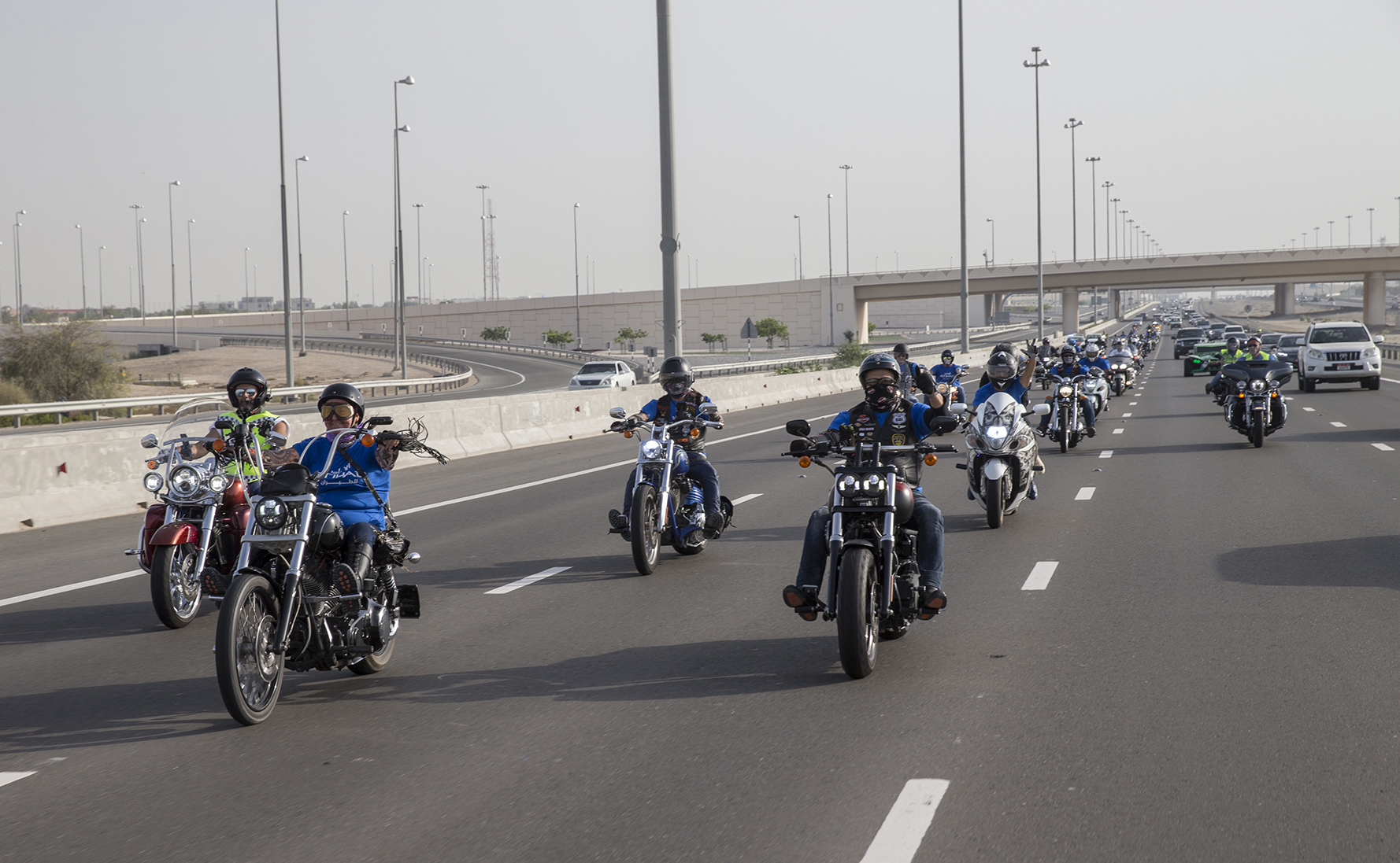 etihad aviation group organises motorbike parade to support autism awareness month 3