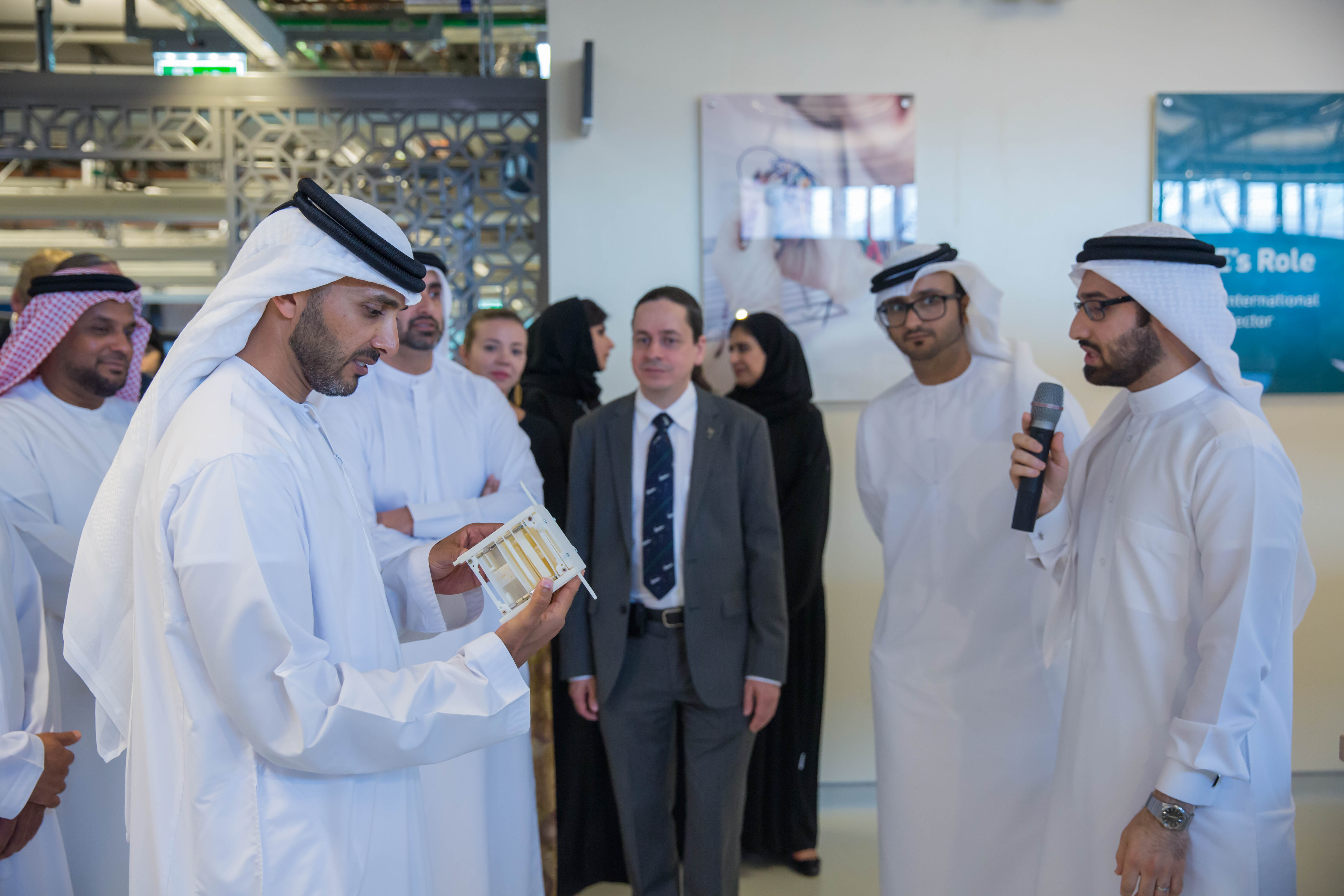 2 yahsat space laboratory launched at masdar institute