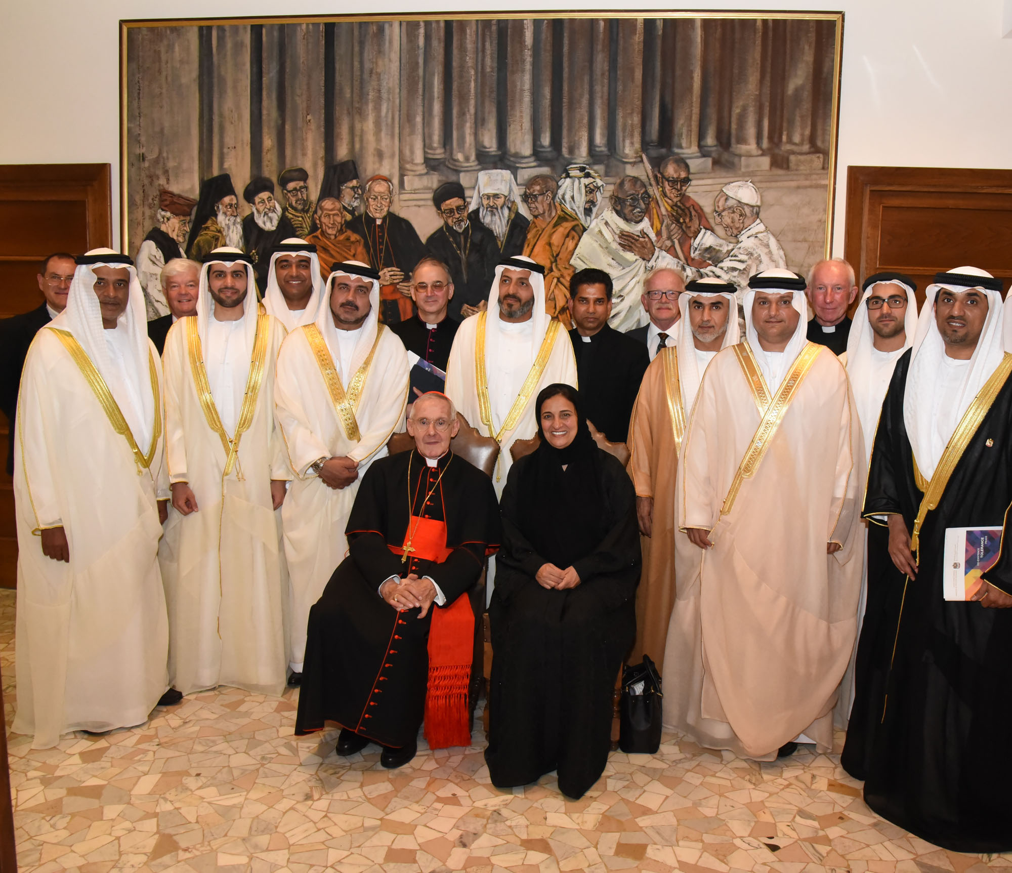 3 meeting of the uae delegation to the vatican