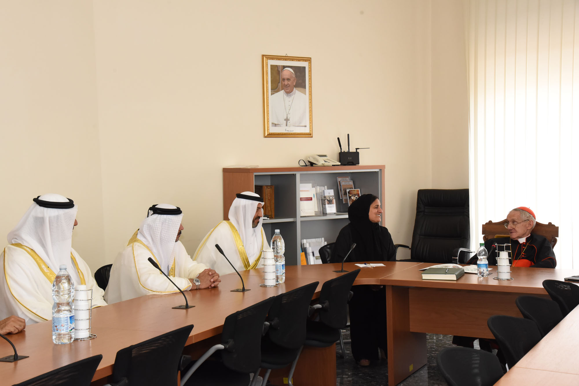 4 meeting of the uae delegation to the vatican