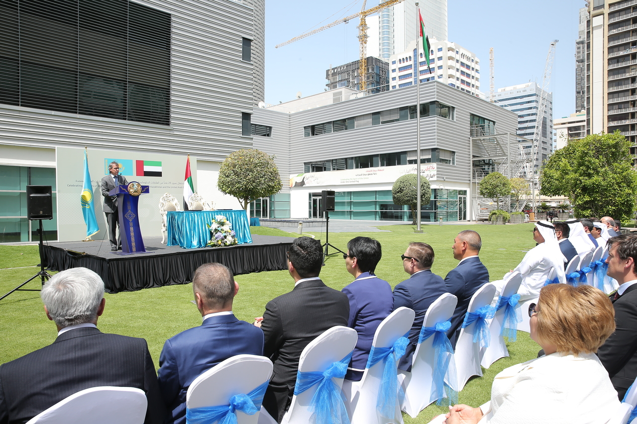 emirates diplomatic academy signs a memorandum of understanding at a ceremony to mark 25 years of uae-kazakhstan diplomatic relations1