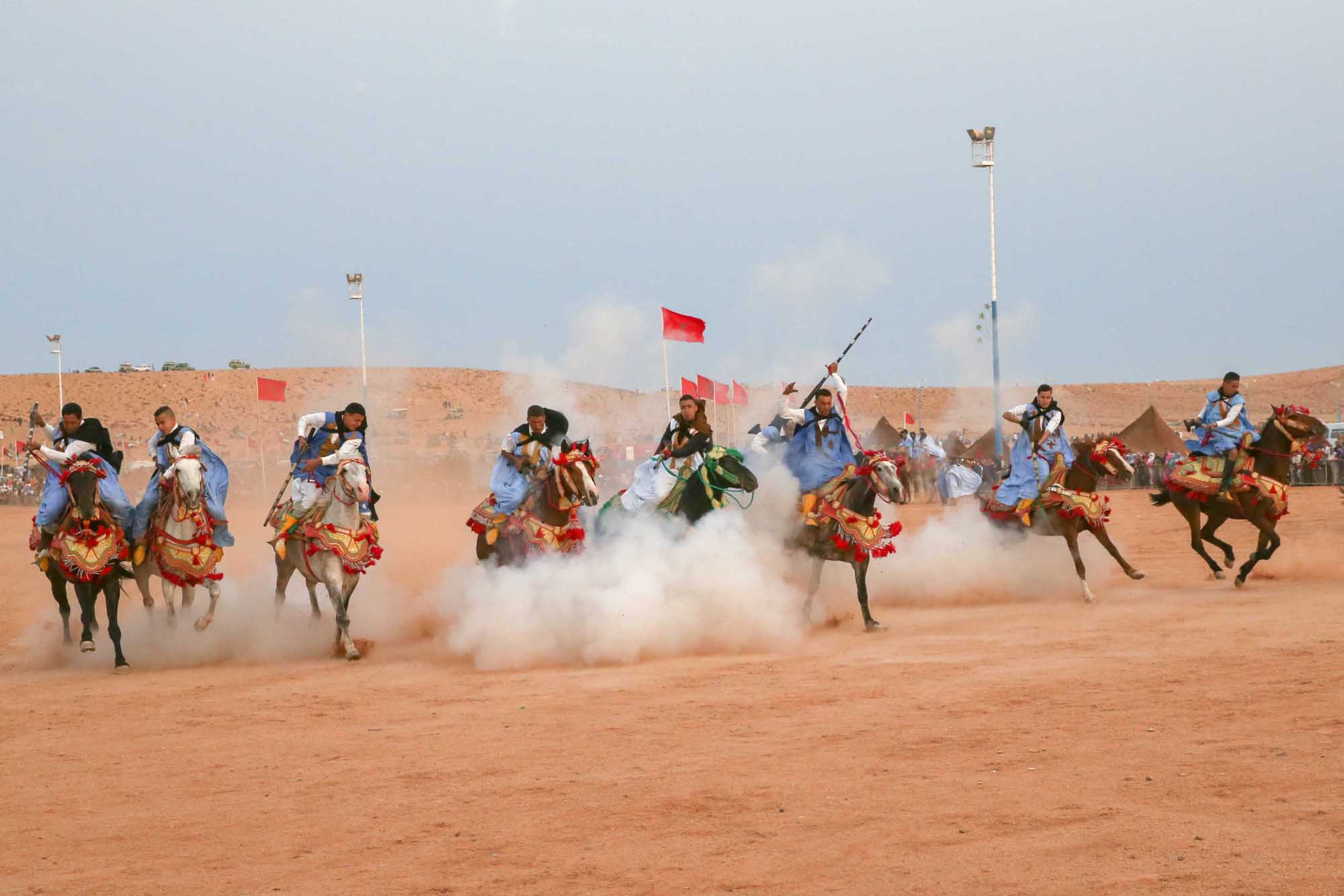 emirati heritage in african sahara as the uae participates in morocco's tan tan moussem festival2