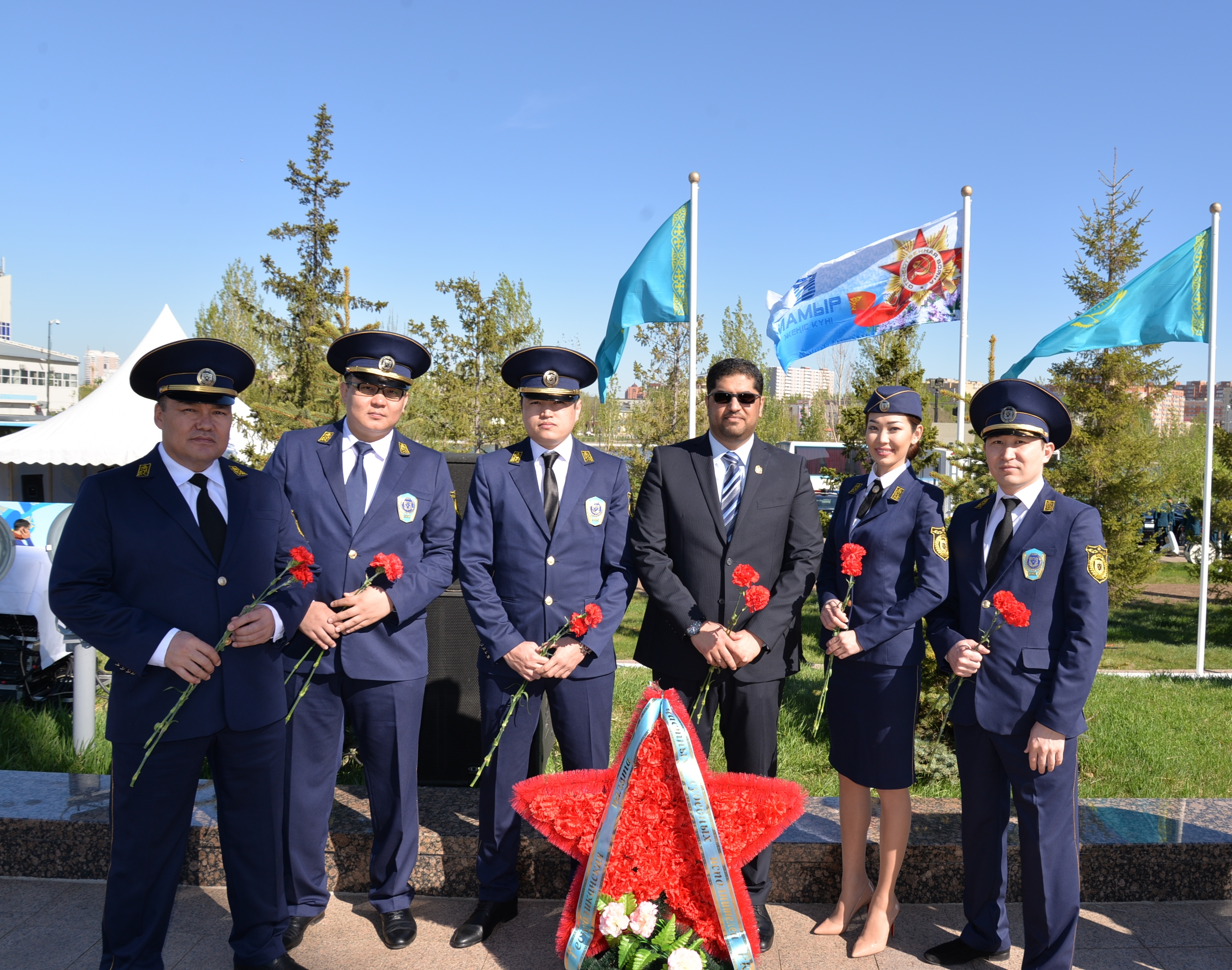 uae ambassador to astana attends the celebration of military events of the kazakh armed forces1