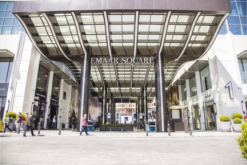 emaar square mall in turkey opened 1