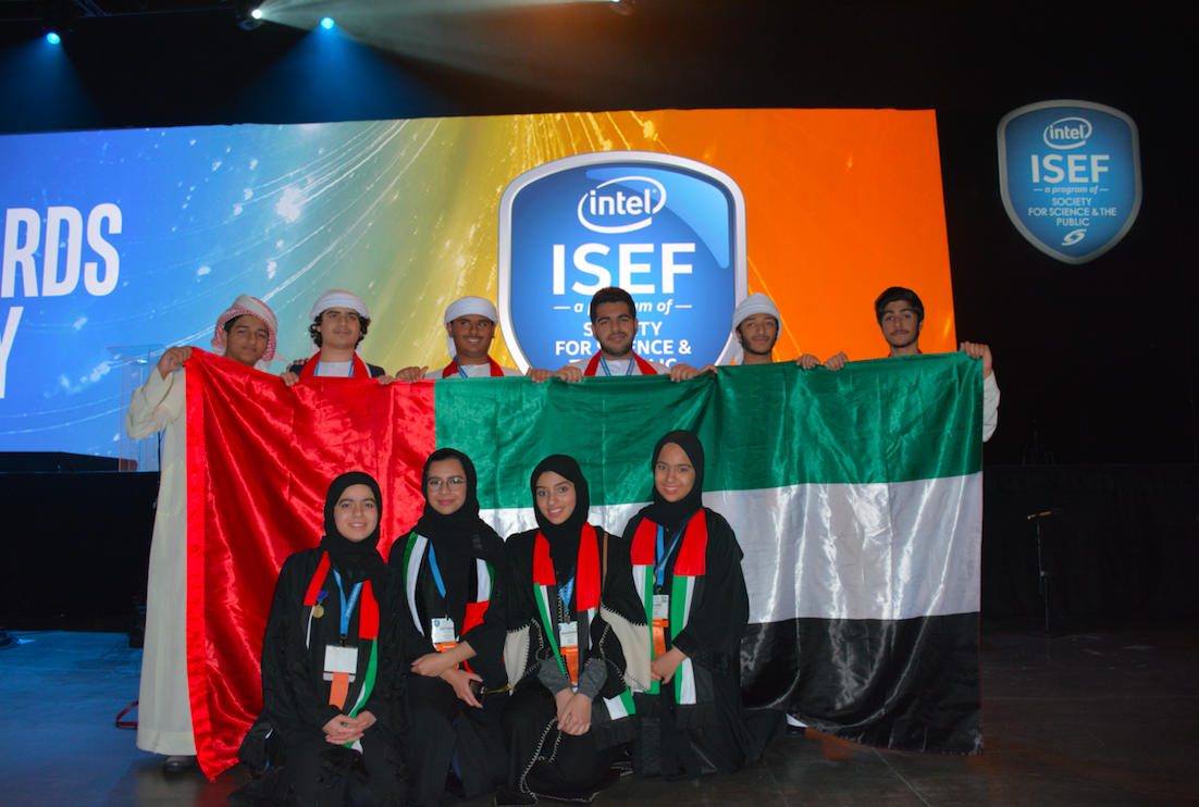 think science ambassadors participate in intel isef in los angeles