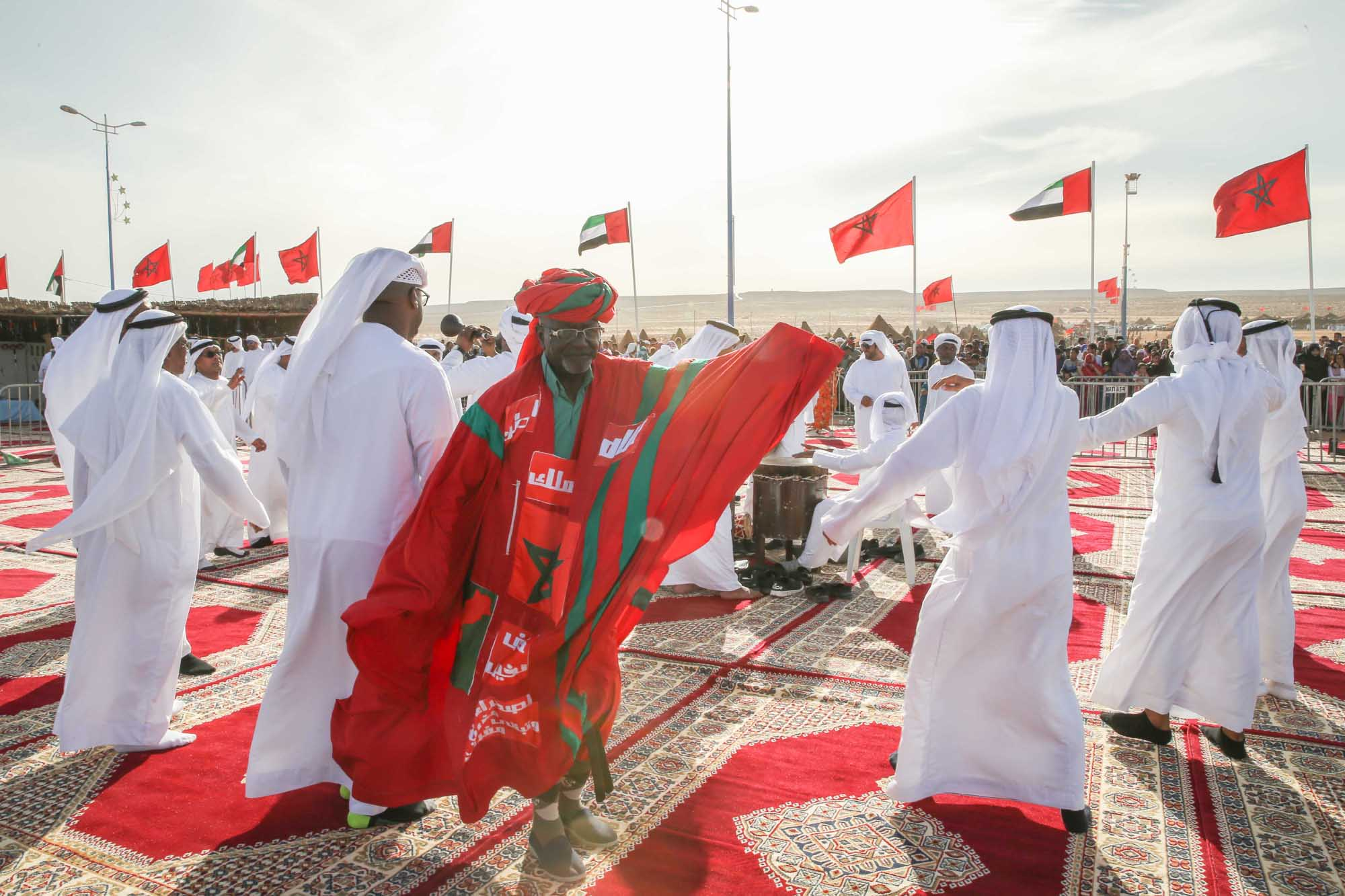 emirati heritage in african sahara as the uae participates in morocco's tan tan moussem festival3