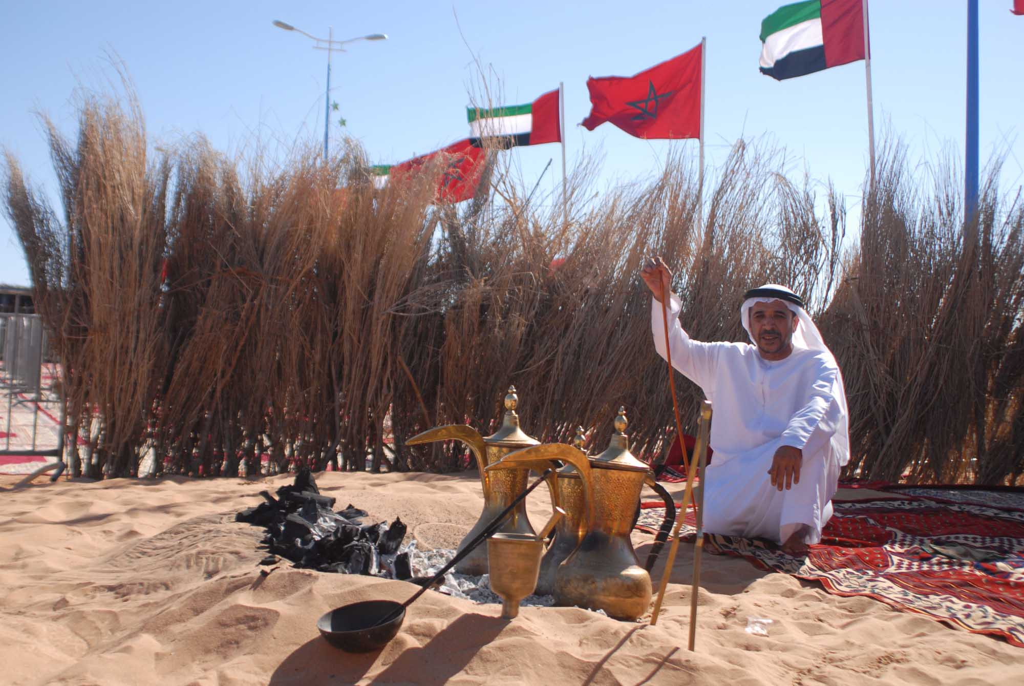 emirati heritage in african sahara as the uae participates in morocco's tan tan moussem festival4