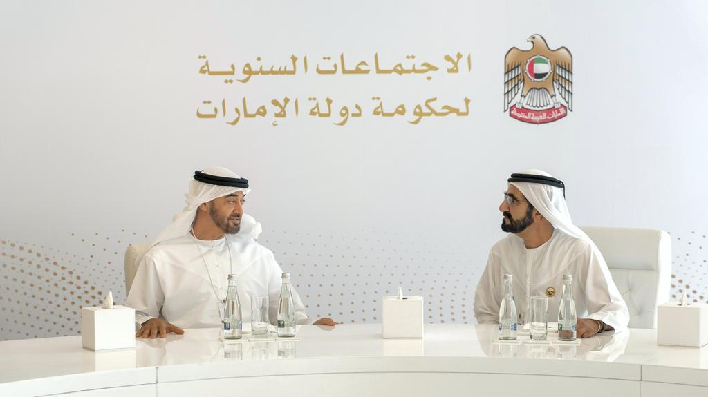 vp, abu dhabi crown prince launch aed 500 mn mars science city at uae government annual meetings