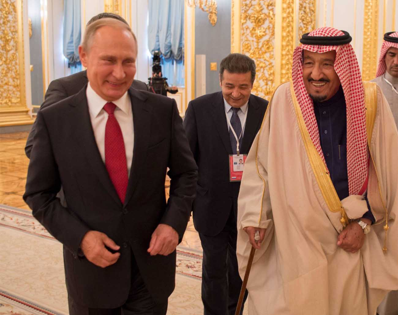 king of saudi arabia and russian president discuss bilateral relations1