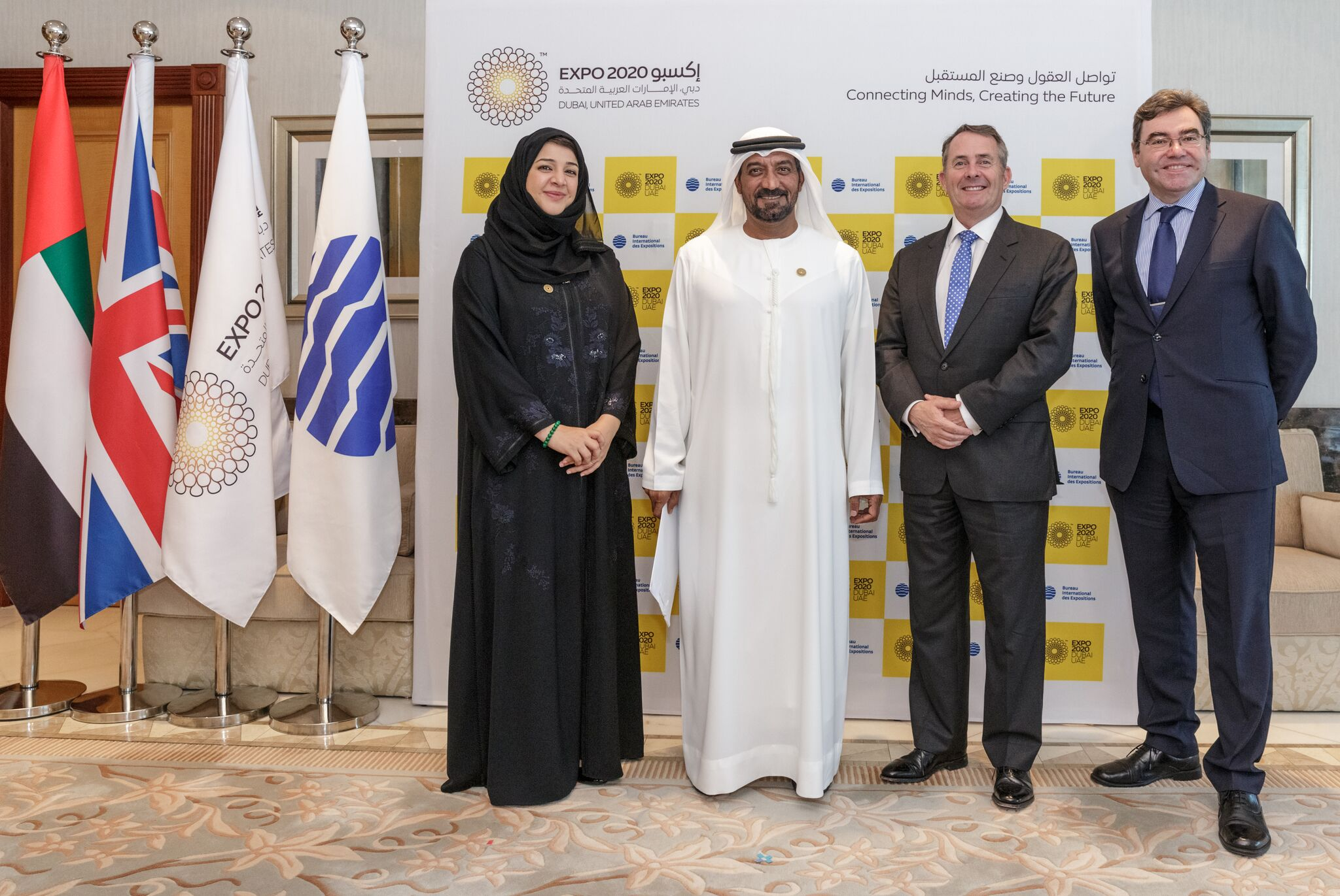 uk is ready to seize 'incredible' expo 2020 opportunity liam fox mp 1