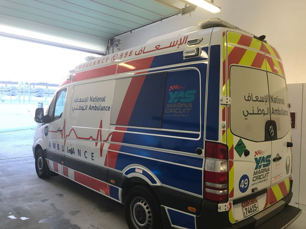 national ambulance 'prepared and ready' for abu dhabi grand prix2