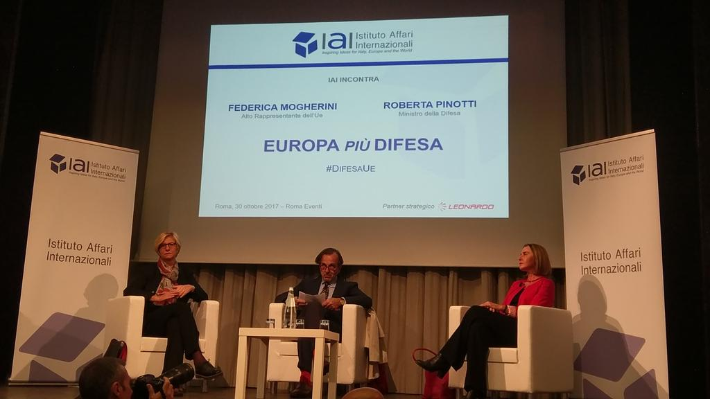 uae embassy in italy participates in european defence conference in rome1