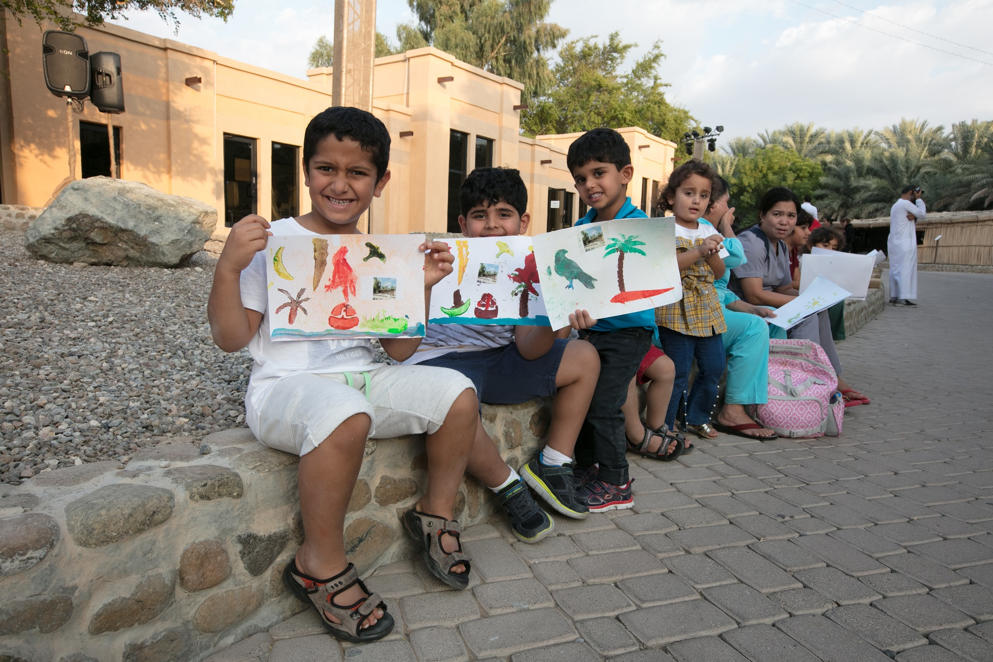 weekends at oasis workshops brings arts and crafts to al ain
