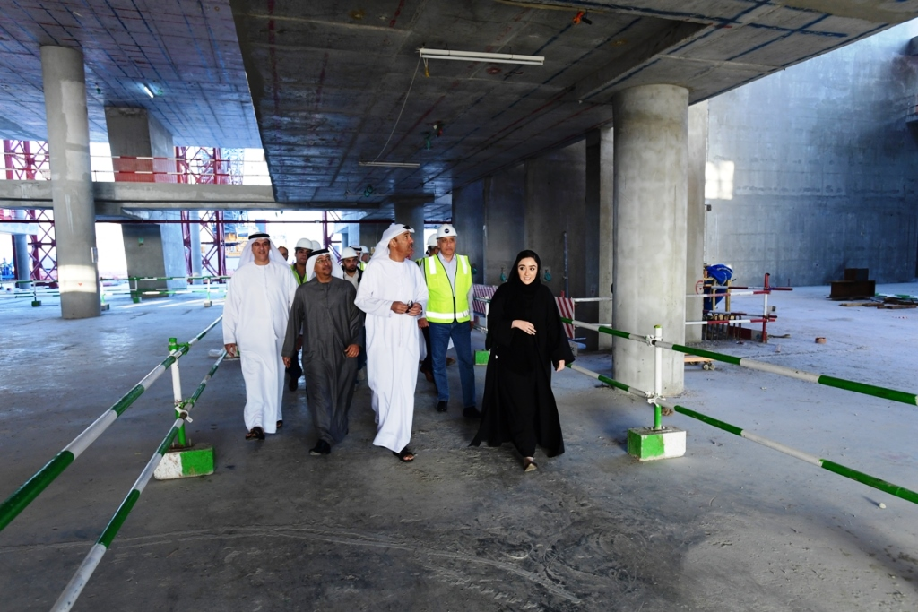 dm director-general visits mohammed bin rashid library project2