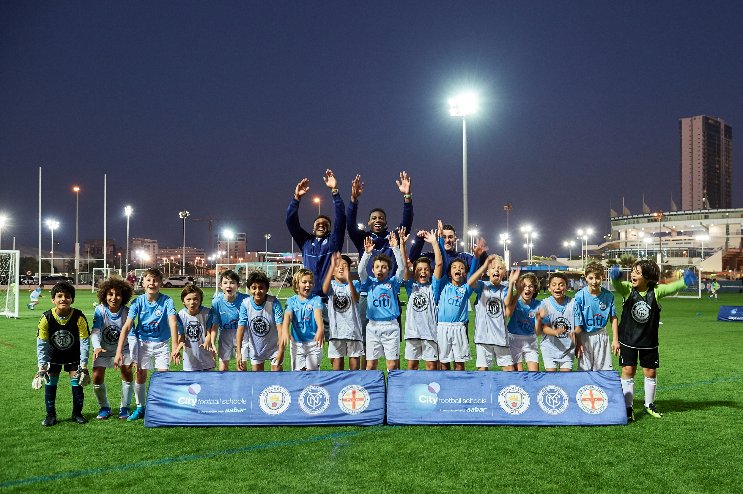 etihad airways fly in young new york city fc stars to coach youth players in abu dhabi3