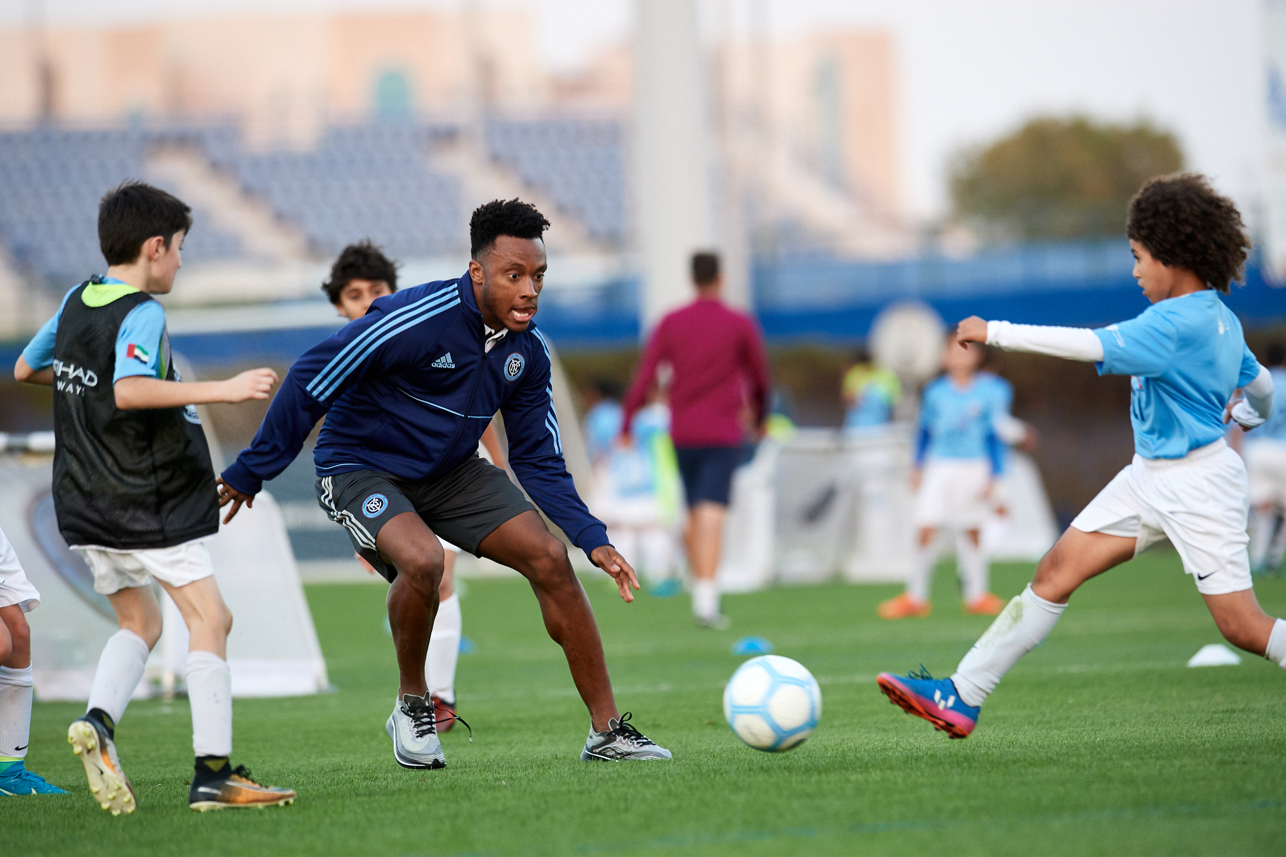 etihad airways fly in young new york city fc stars to coach youth players in abu dhabi1