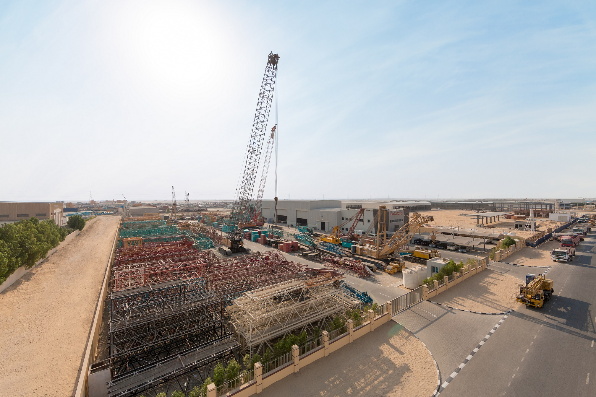aed135 million investment expanding infrastructure at di
