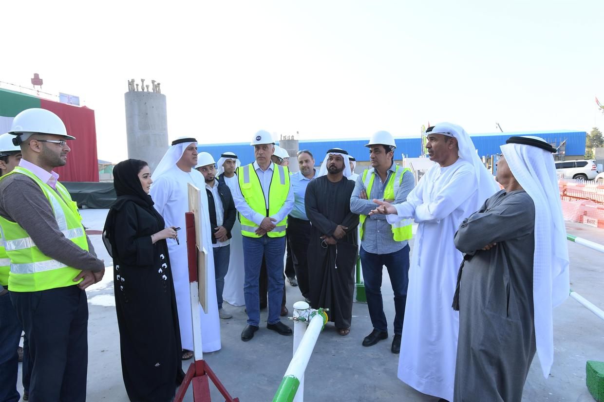 dm director-general visits mohammed bin rashid library project