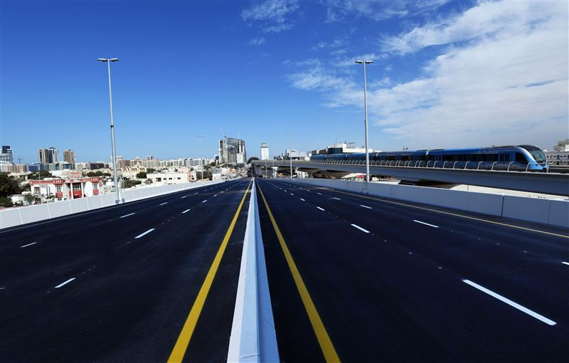 rta opens two major bridges at sheikh rashid-sheikh khalifa bin zayed street junction1