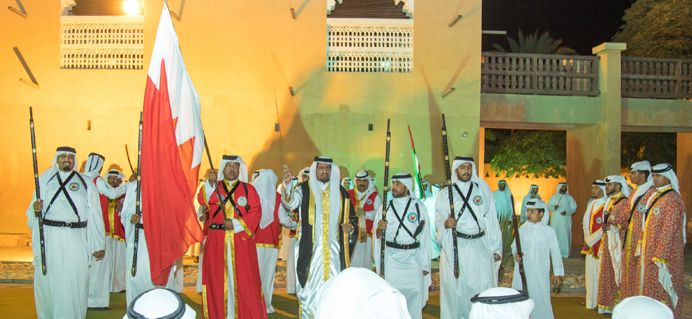 visitors enjoy traditional arabian experiences with my heritage, my responsibility event