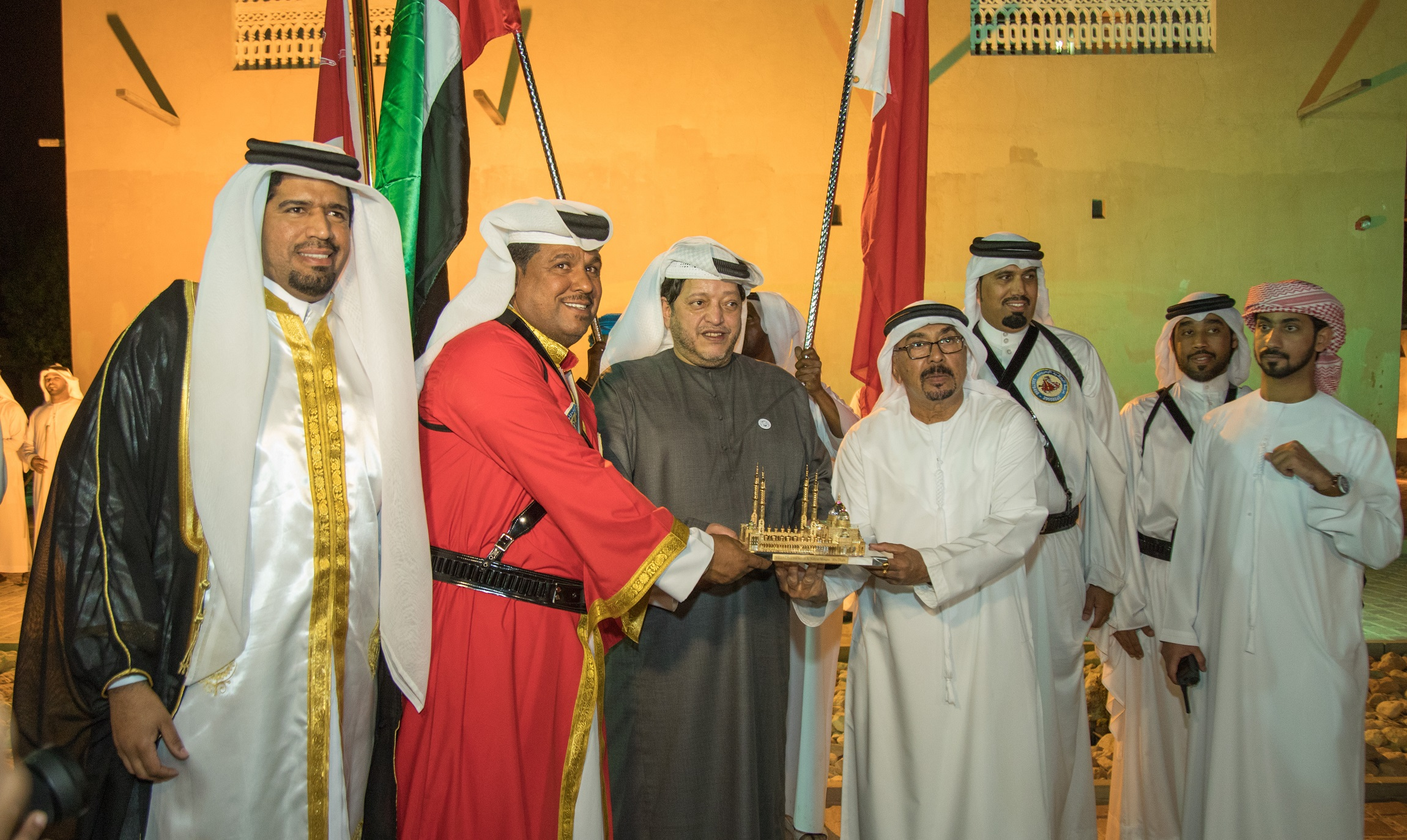 visitors enjoy traditional arabian experiences with my heritage, my responsibility event2
