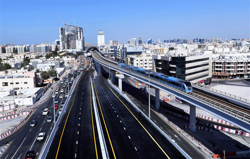 rta opens two major bridges at sheikh rashid-sheikh khalifa bin zayed street junction2