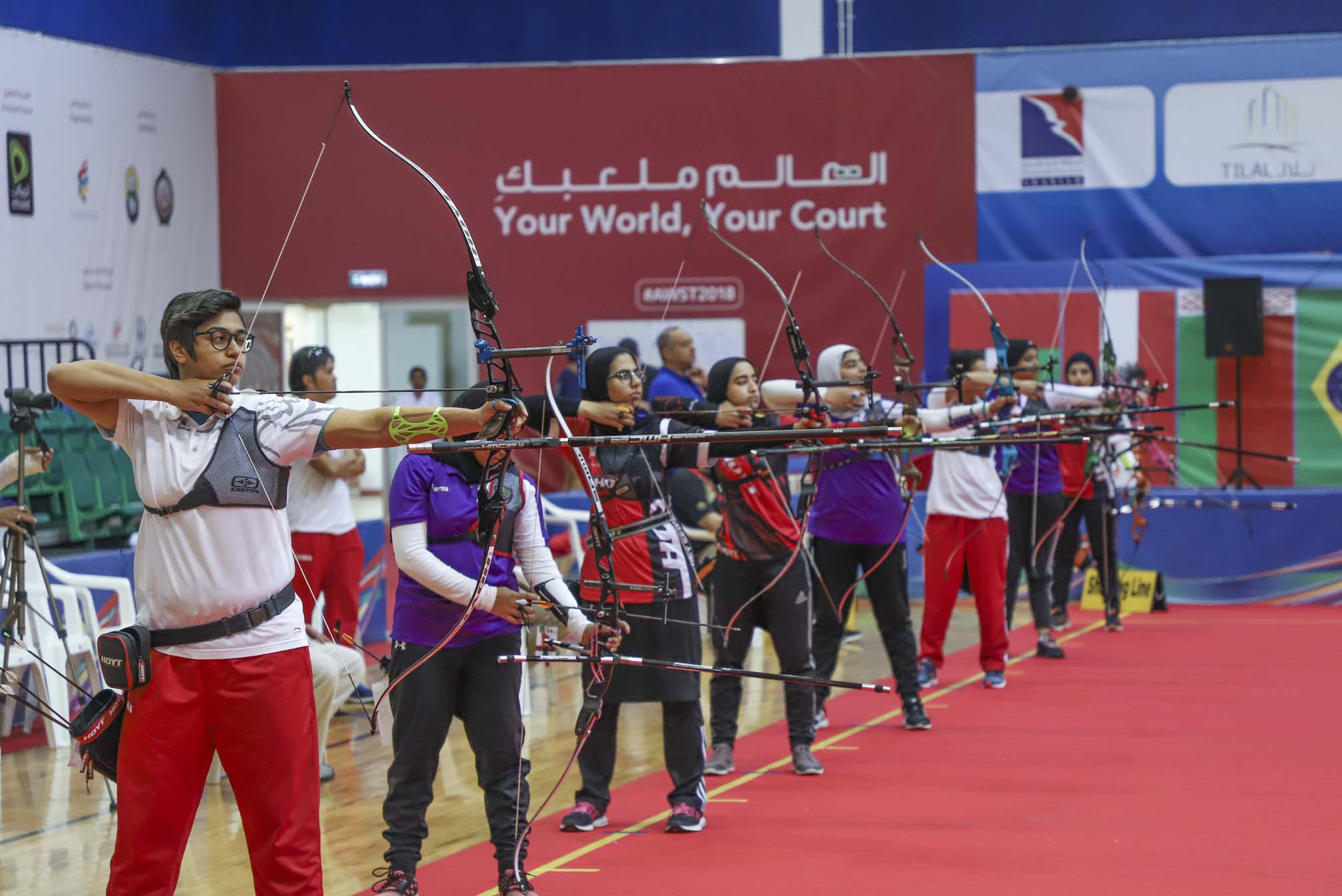 sharjah and bahrain right on target for archery golds3