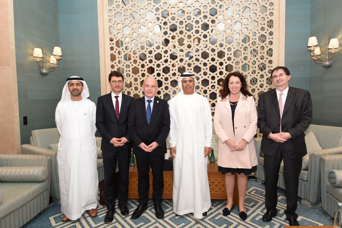 obaid al tayer meets vice president and finance minister of switzerland2