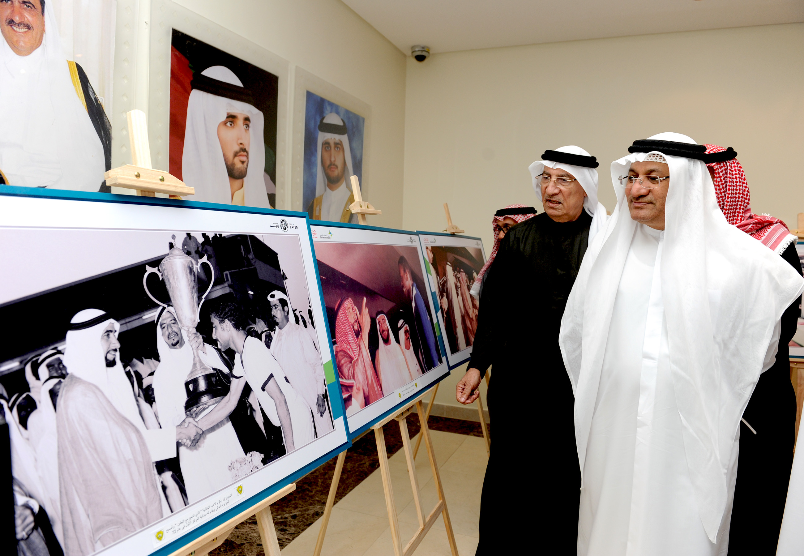 dha holds exhibition in memory of sheikh zayed2