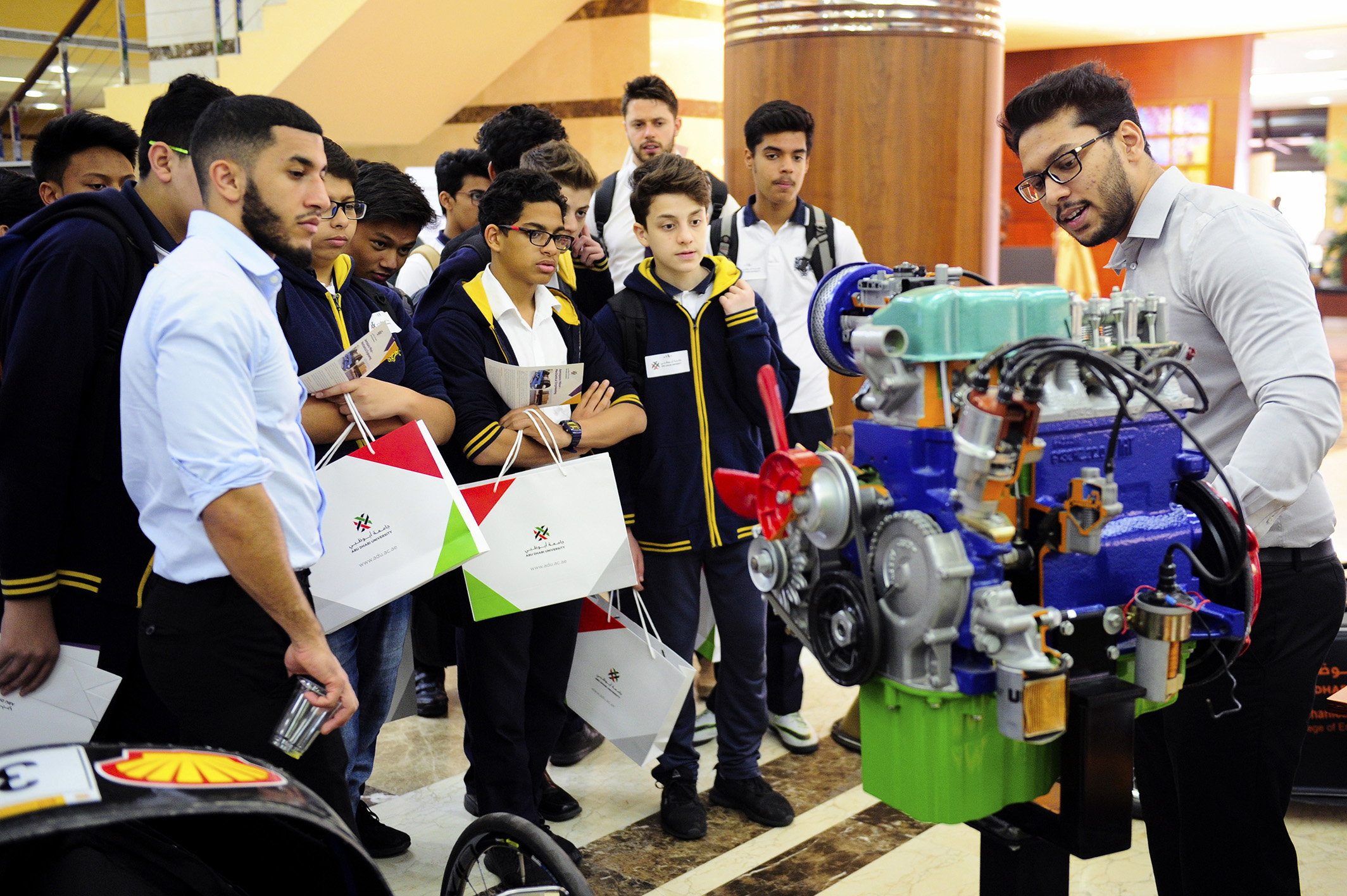 adu concludes open week for 2017-2018