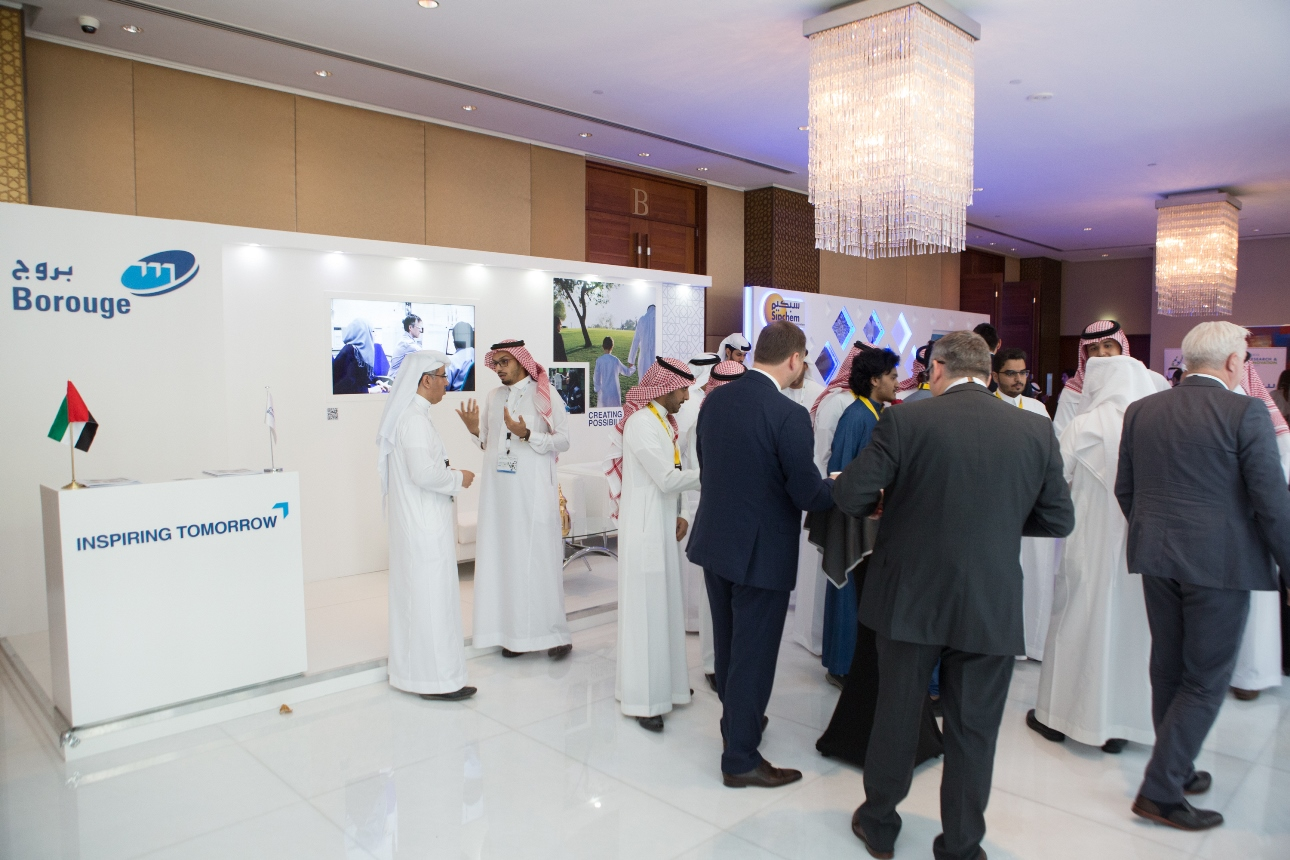 borouge showcases latest innovations at gpca summit