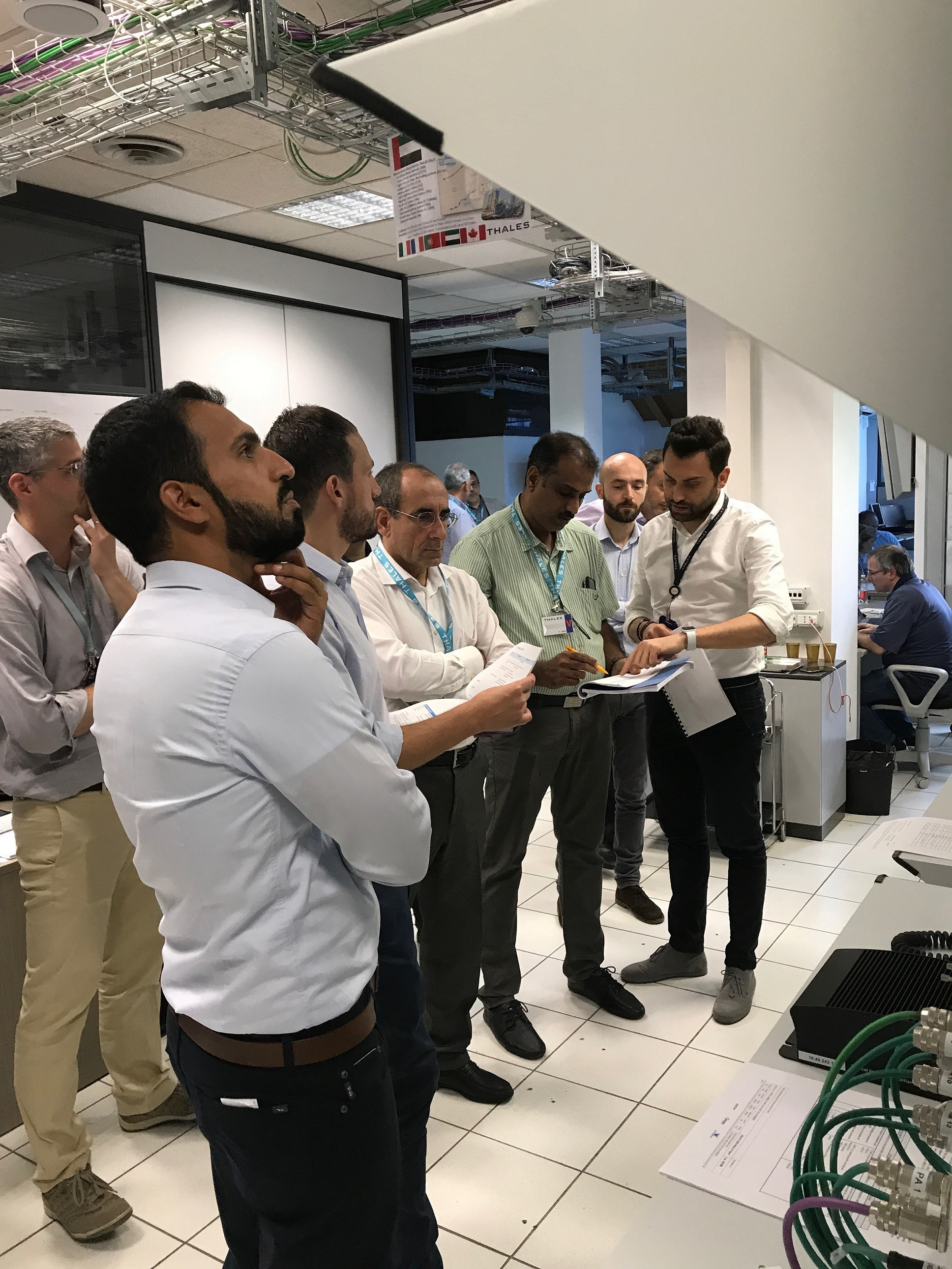 rta attends tests of telecommunication systems of route 2020 in italy3
