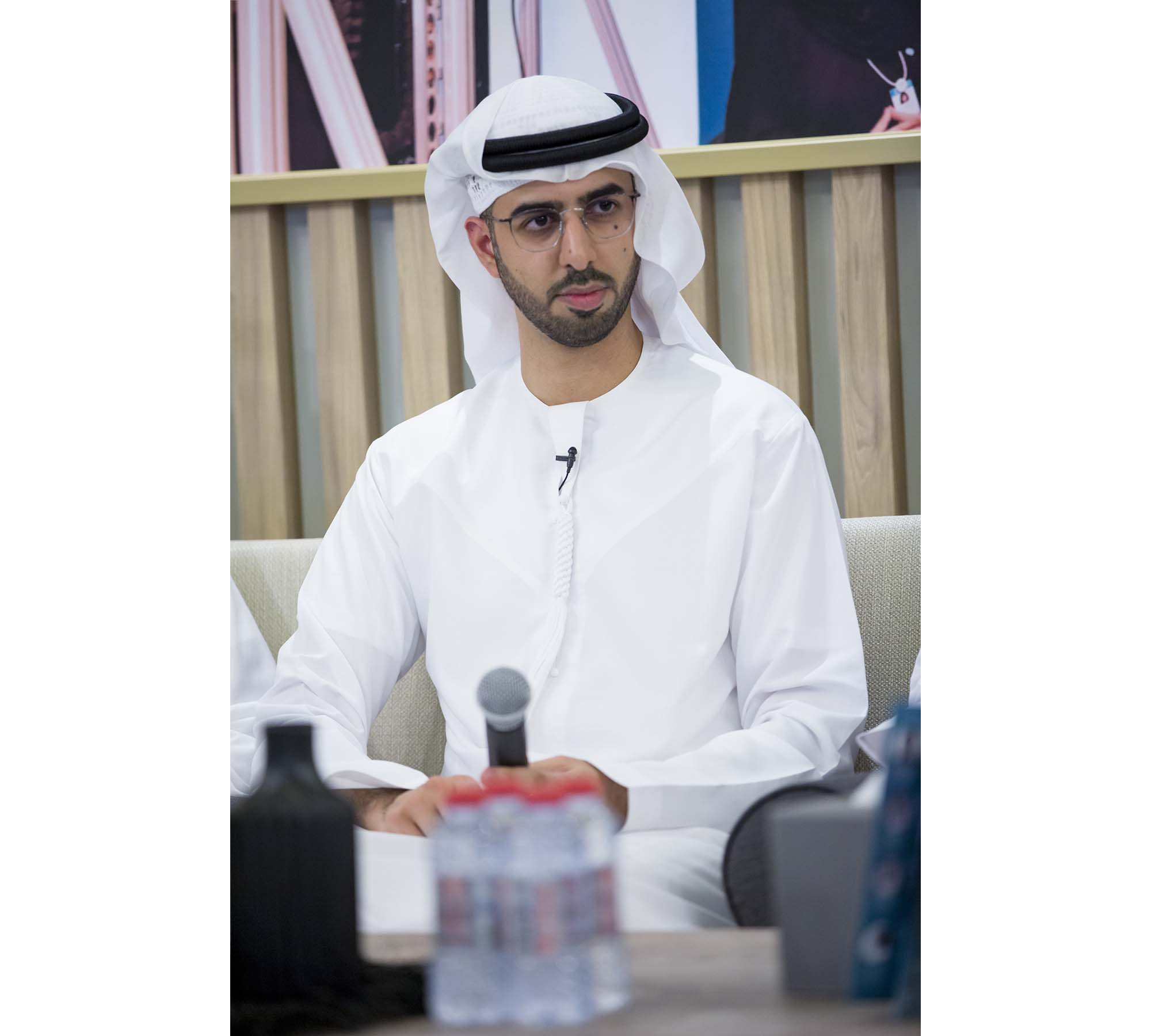 al olama discusses future technology challenges in 'pioneer series'