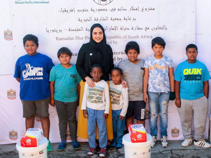 UAE Embassy in South Africa distributes 550 food baskets to needy families. CAPE  TOWN ... 33ac21ac194e