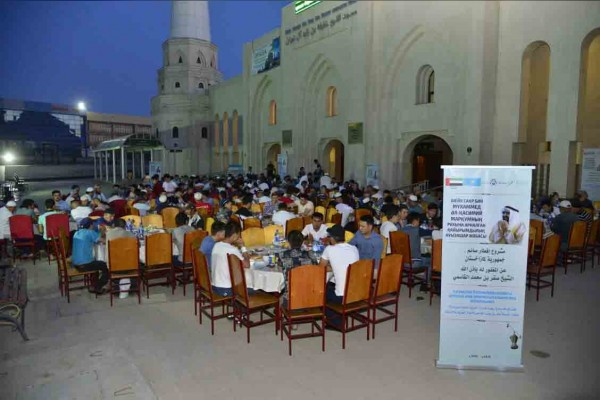 UAE Embassy in Astana oversees iftar program