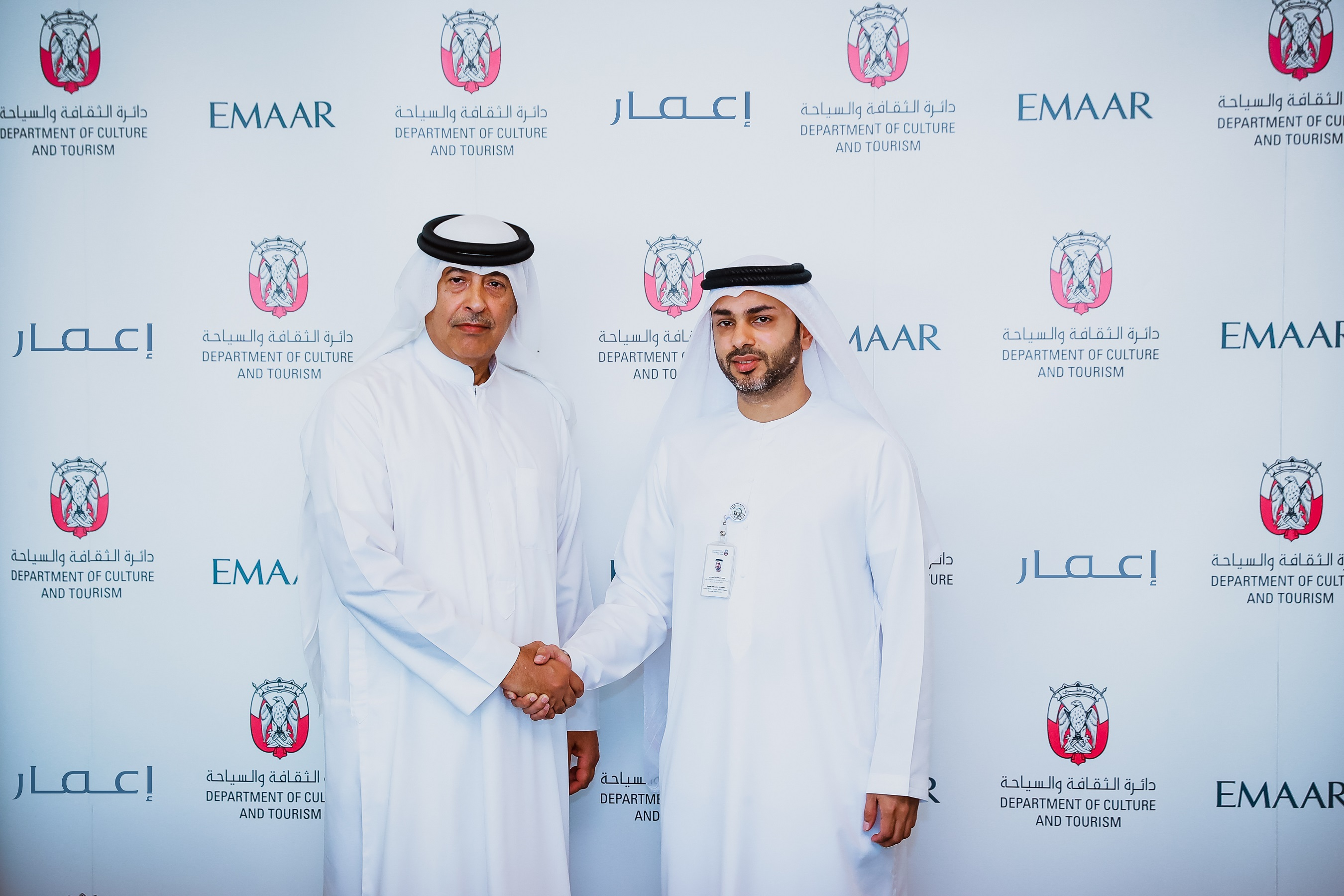 dct abu dhabi, emaar sign agreement, support local publishing industry2
