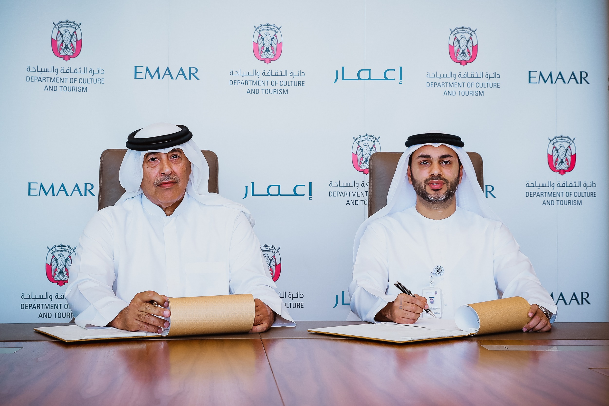 dct abu dhabi, emaar sign agreement, support local publishing industry