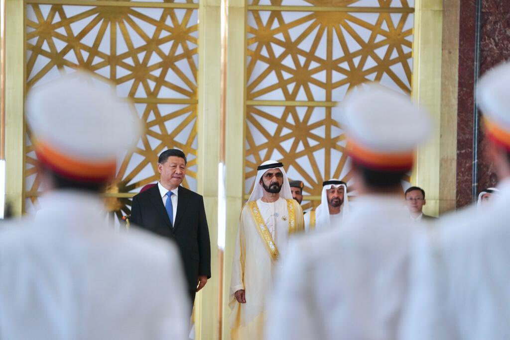 chinese president arrives in uae 5