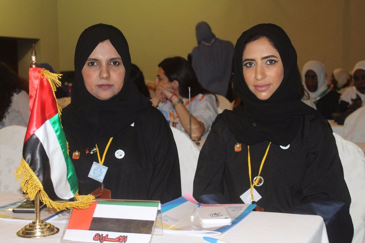 uae girl guides at first arab regional training programme for facilitators in sudan2