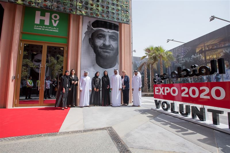 house of volunteers launched to host special events, activities for 30,000 'faces of expo 2020 dubai'1