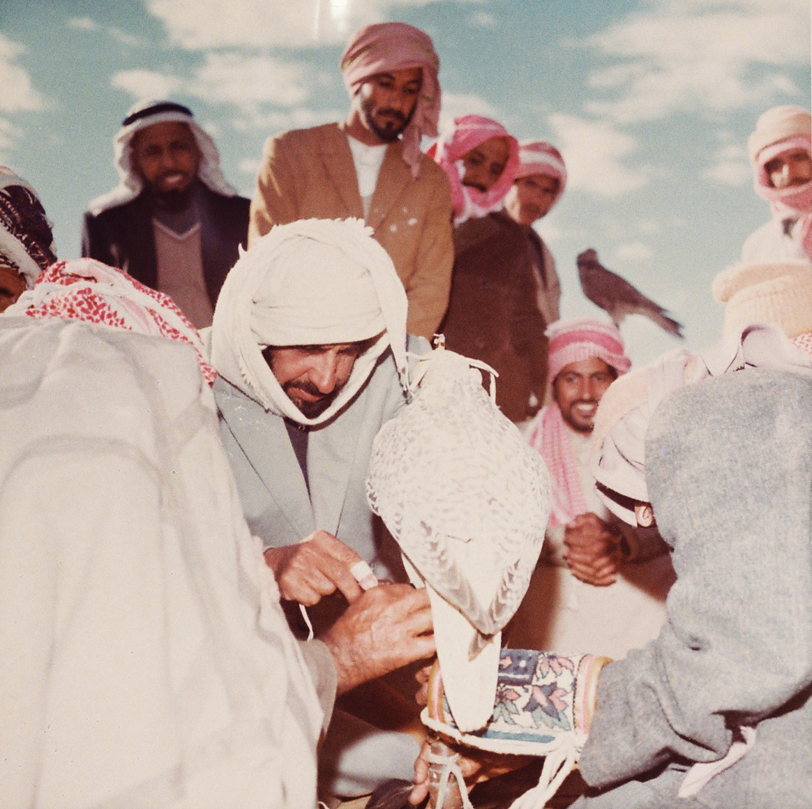 sheikh zayed first falconer and nature protector