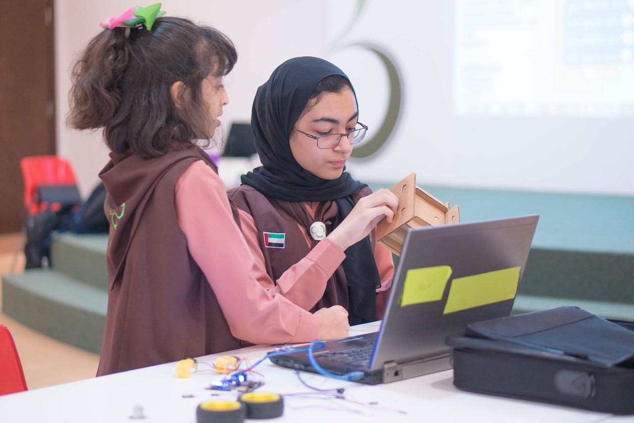 sharjah girl guides brownies engaged in creative workshops.jpg