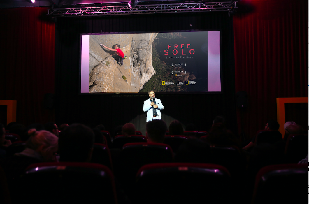 national geographic's oscar-winning 'free solo' premiere held in uae 1