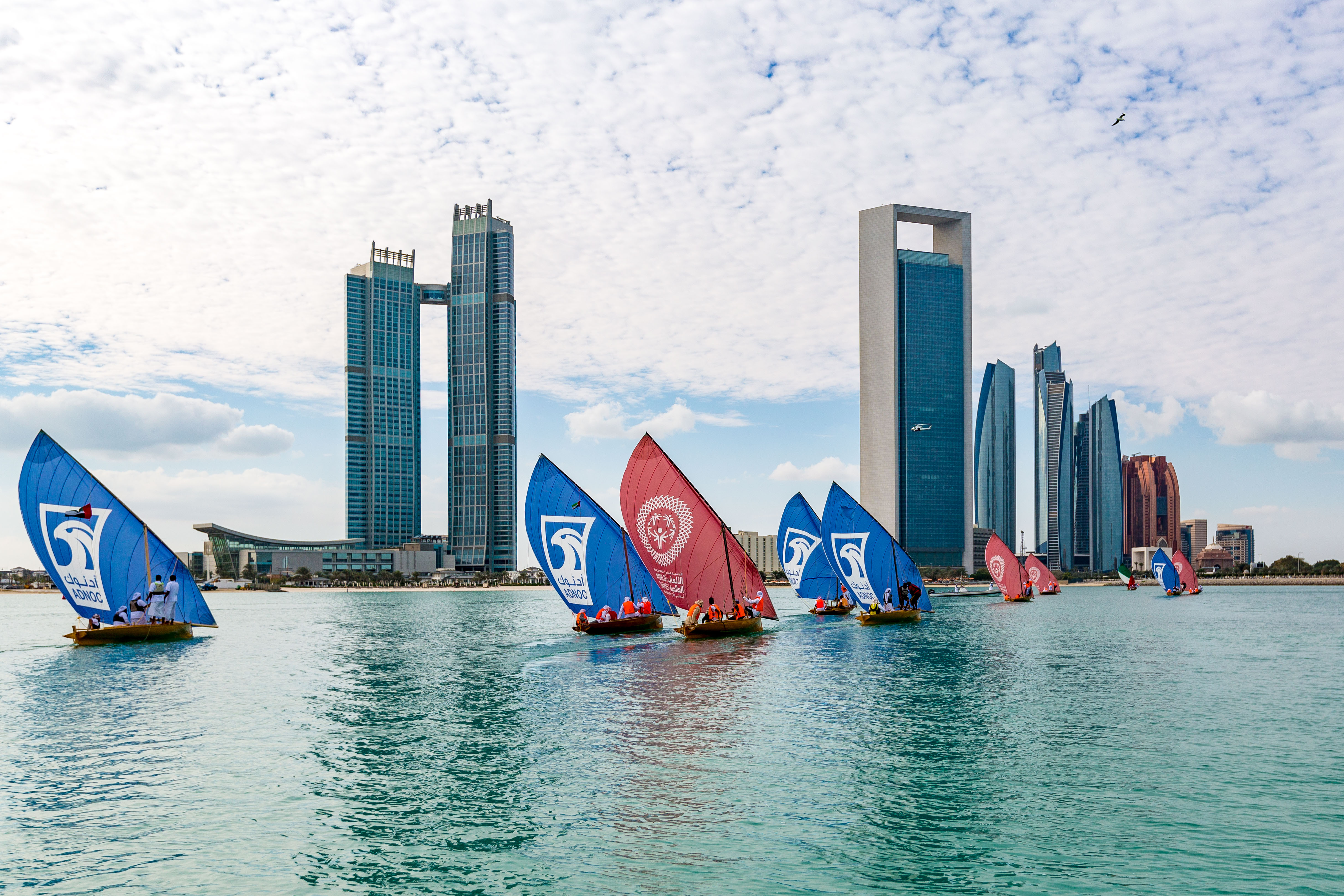 adnoc honours special olympics eternal flame of hope as it begins journey across uae 2