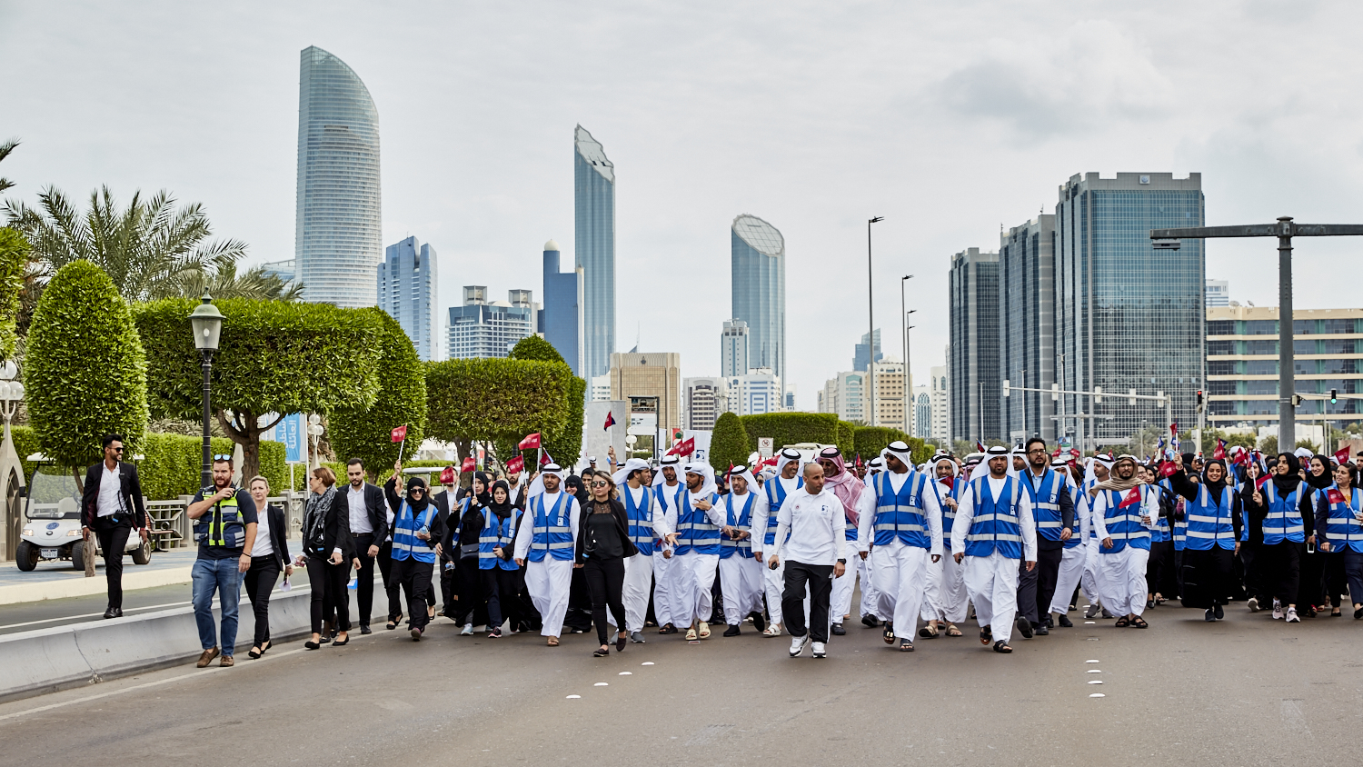 adnoc honours special olympics eternal flame of hope as it begins journey across uae 3