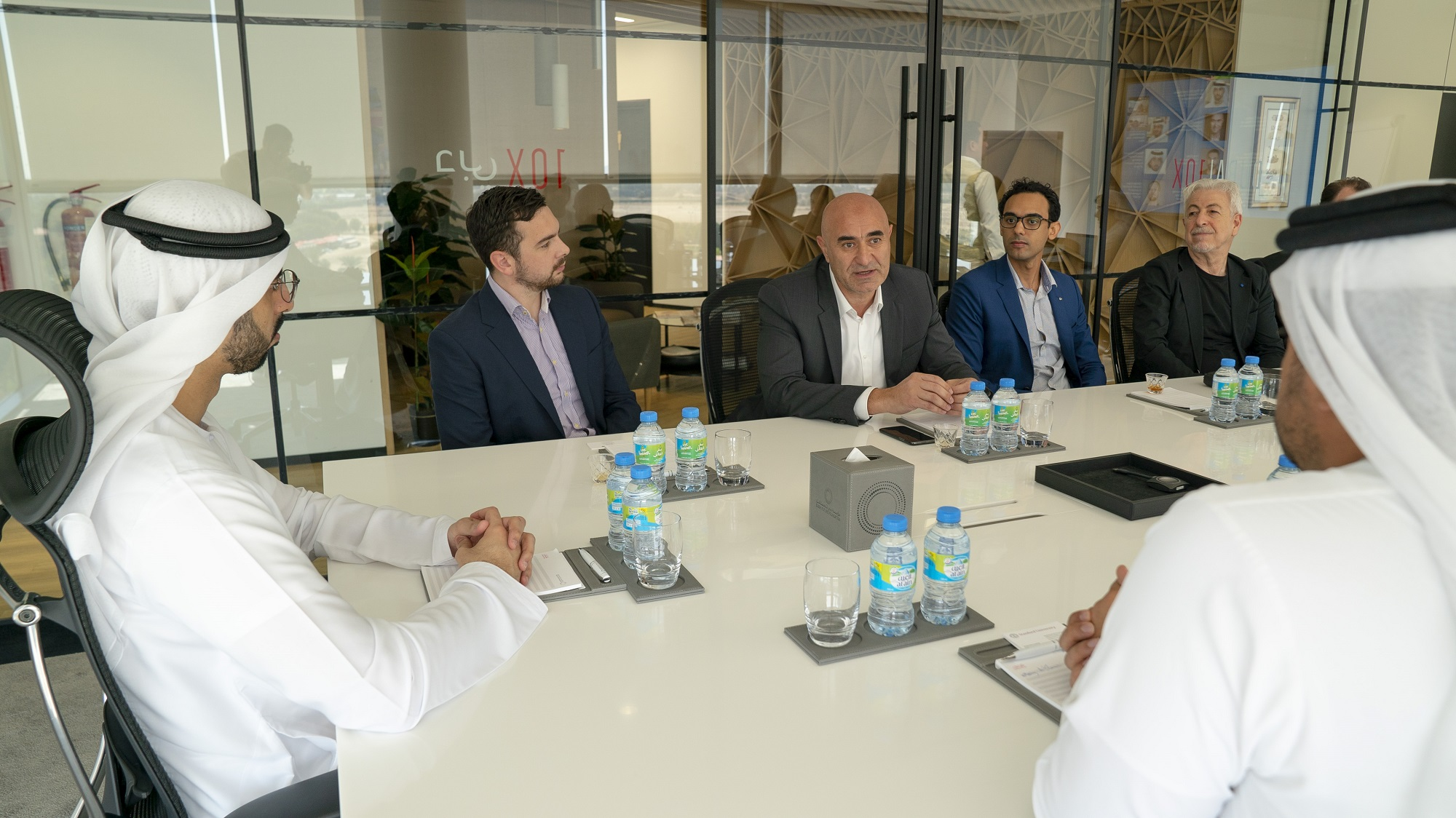 dubai future council on artificial intelligence holds its first meeting  1