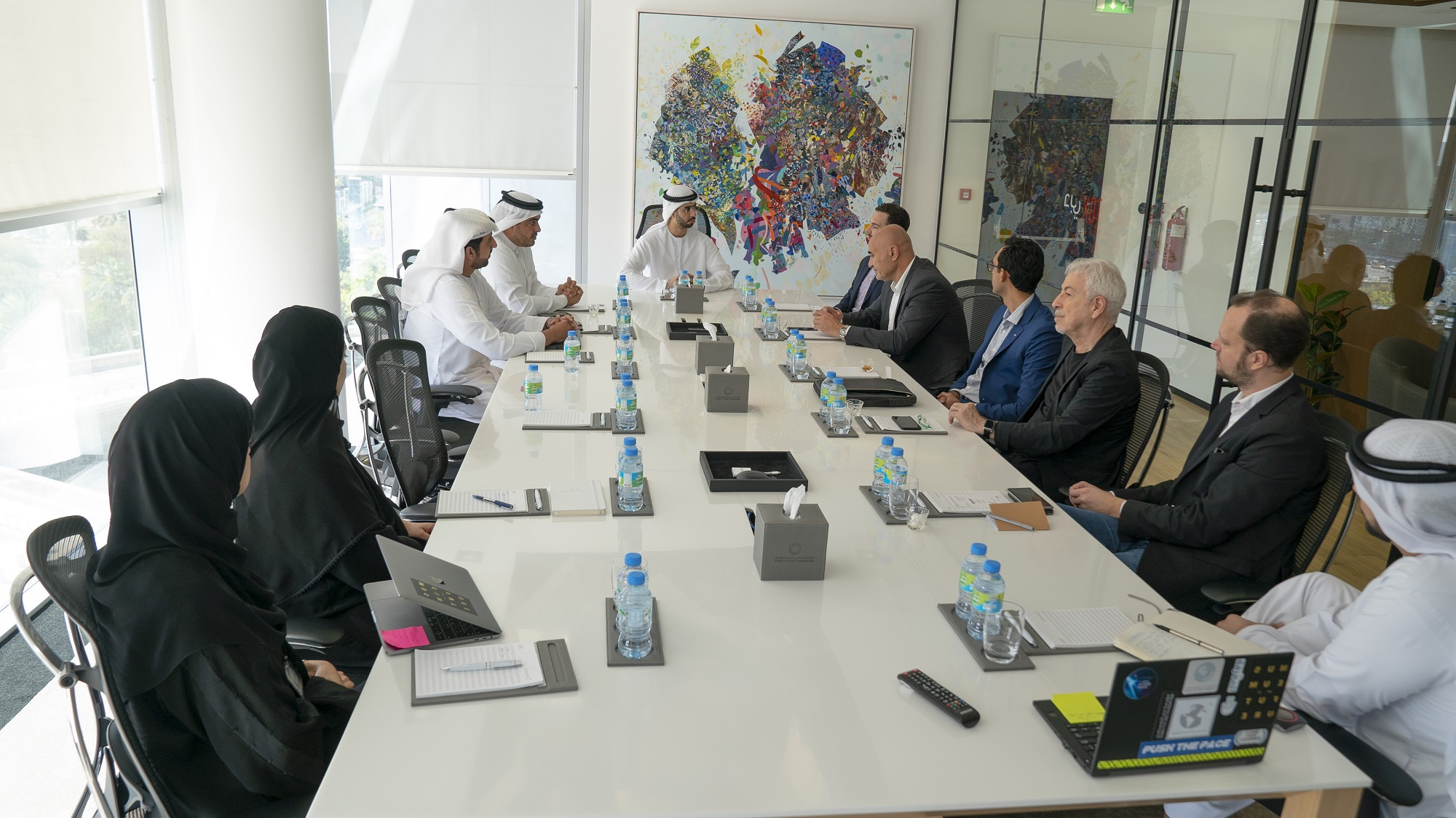 dubai future council on artificial intelligence holds its first meeting  2