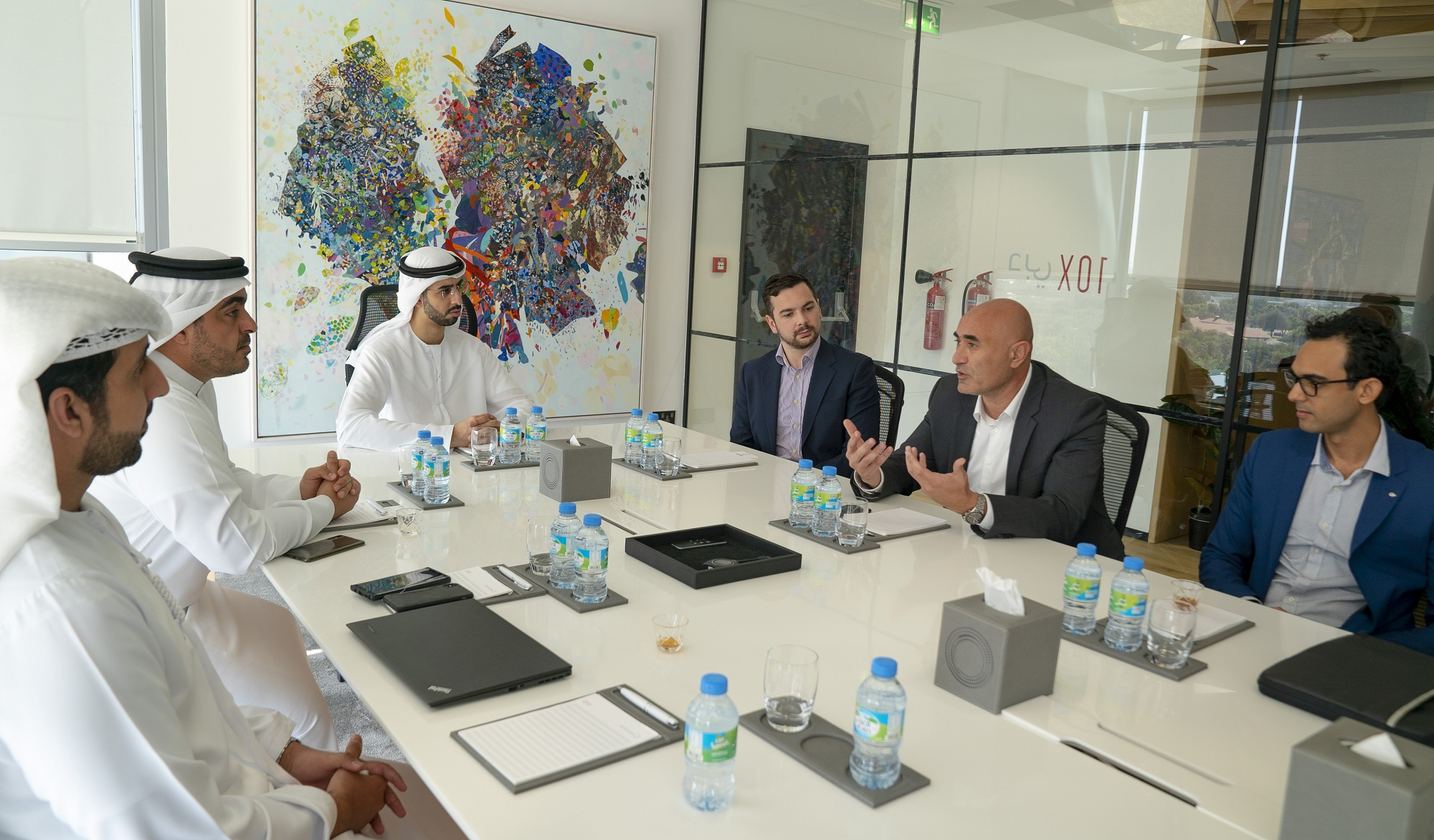dubai future council on artificial intelligence holds its first meeting  3